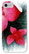 Red IPhone Case by Allyson Andrewz