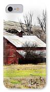 Red Barn IPhone Case by Steve McKinzie