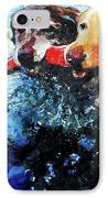 Red Bumper IPhone Case by Molly Poole