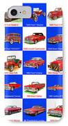 Red Cars Of America IPhone Case
