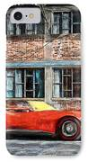 Red Corvette IPhone Case by Bob Orsillo