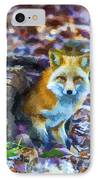 Red Fox At Home IPhone Case