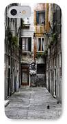 Red In Venice IPhone Case by John Rizzuto