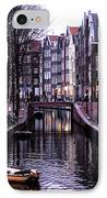 Red Light District IPhone Case by John Rizzuto