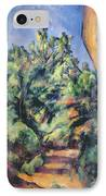 Red Rock IPhone Case by Paul Cezanne