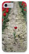 Red Tulips IPhone Case by Jim Corwin