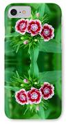 Reflections Of A Summer Bouquet IPhone Case by Aimee L Maher Photography and Art Visit ALMGallerydotcom