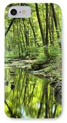 Reflections Of Tranquility IPhone Case by Adam Jewell