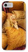 Regal Feline IPhone Case by Amy Cicconi