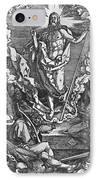 Resurrection IPhone Case by Albrecht Duerer