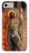 Resurrection IPhone Case by Andrea Mantegna