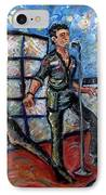 Revolution Rock The Clash IPhone Case by Jason Gluskin