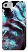 Rhino 1 - Rhinoceros Art Prints IPhone Case by Sharon Cummings