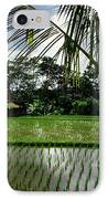 Rice Fields Bali IPhone Case by Juergen Weiss
