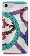 Ring Of Fire IPhone Case by Robert Margetts