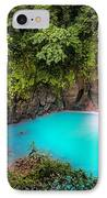 Rio Celeste Waterfall IPhone Case by Andres Leon