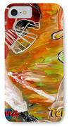 Rivals Face To Face 1 IPhone Case by Mark Moore