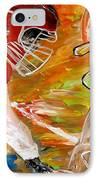 Rivals Face To Face  IPhone Case by Mark Moore