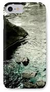 River Rocked IPhone Case by Susan Maxwell Schmidt