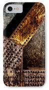 Rivets  IPhone Case by Bob Orsillo