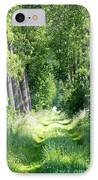 Road To Bruges IPhone Case by Carol Groenen