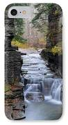 Robert Treman State Park IPhone Case by Frozen in Time Fine Art Photography