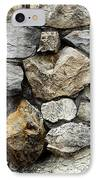 Rock Wall  IPhone Case by Les Cunliffe