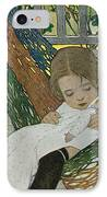 Rocking Baby Doll To Sleep IPhone Case