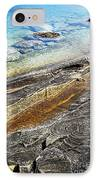 Rocks And Clear Water Abstract IPhone Case by Elena Elisseeva
