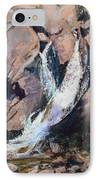 Rocky Mountain Cascade IPhone Case by Mary Benke