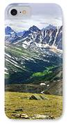 Rocky Mountains In Jasper National Park IPhone Case by Elena Elisseeva