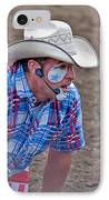 Rodeo Clown Cowboy In Dust IPhone Case