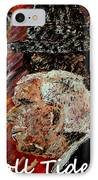 Roll Tide With Bear Bryant And Mal Moore  IPhone Case by Mark Moore