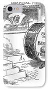 Roosevelt Cartoon, 1908 IPhone Case by Granger