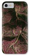 Roots Of Fantasy IPhone Case by R McLellan