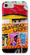 Roots Of La Perla At Old San Juan IPhone Case by Sandra Pena de Ortiz