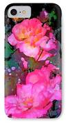 Rose 193 IPhone Case by Pamela Cooper