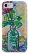 Rose In A Bottle IPhone Case