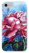 Rose IPhone Case by Zaira Dzhaubaeva