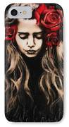 Roses Are Red IPhone Case by Sheena Pike