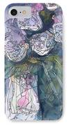 Roses In A Vase IPhone Case
