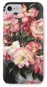 Roses In A Watercan IPhone Case