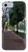 Rothschild Boulevard IPhone Case by Ron Shoshani
