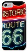 Route 66 IPhone Case by Theodore Clutter