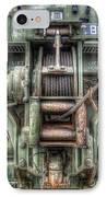Royal Army Bulldozer IPhone Case by Yhun Suarez