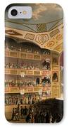 Royal Circus From Ackermanns Repository IPhone Case by T. & Pugin, A.C. Rowlandson