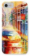 Royal Street Reflections IPhone Case by Diane Millsap
