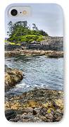 Rugged Coast Of Pacific Ocean On Vancouver Island IPhone Case