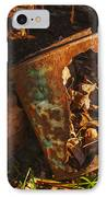 Rusted Can Of Leaves IPhone Case by Jack Zulli