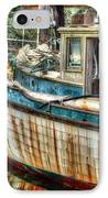 Rusted Wood IPhone Case by Michael Thomas